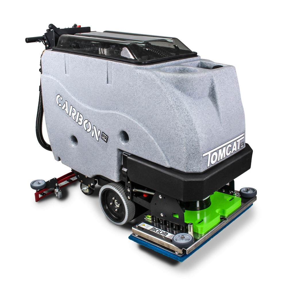"TOMCAT CARBON 28"" EDGE SCRUBBER DRIER - Ruck Engineering"