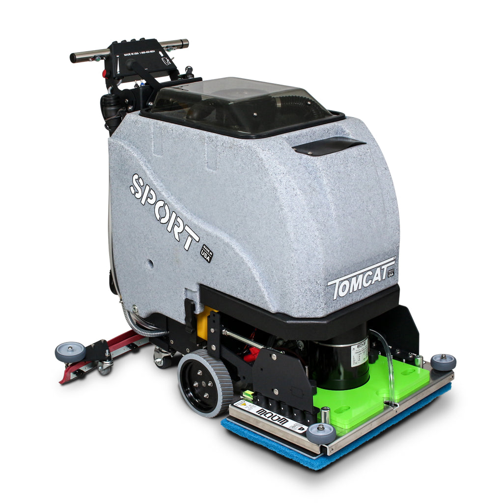 "TOMCAT SPORT 20"" EDGE SCRUBBER DRIER - Ruck Engineering"
