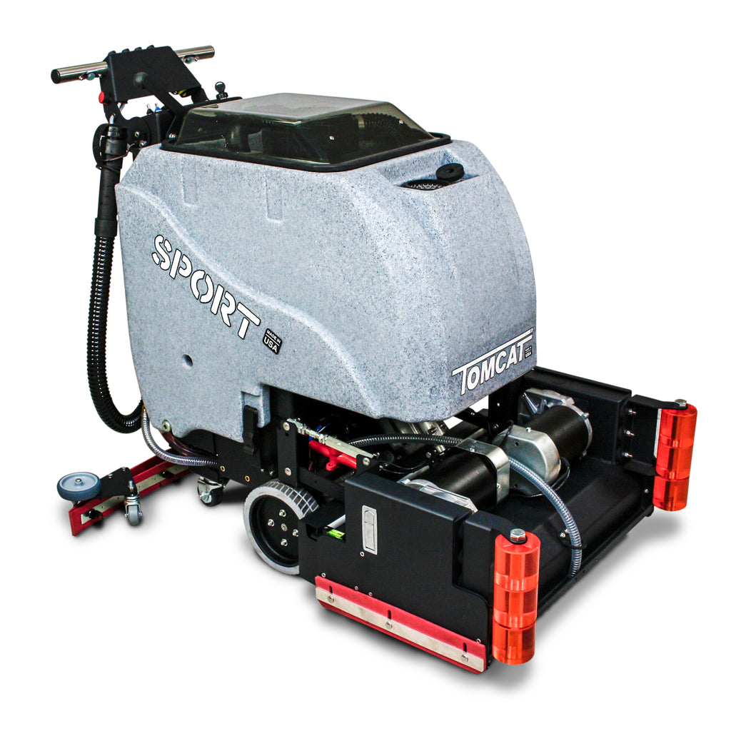"TOMCAT SPORT 25"" CYLINDRICAL SCRUBBER DRIER - Ruck Engineering"