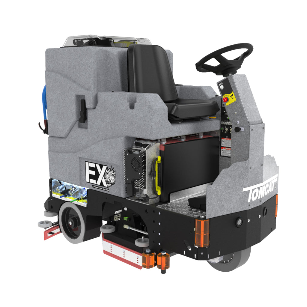 "TOMCAT EX-ST 30"" DISC SCRUBBER DRIER - Ruck Engineering"