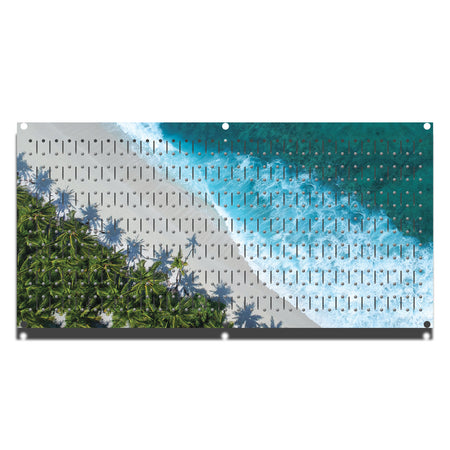 "HHWC11033- Beach (1 Panel) | 16"" x 32""(tall) 