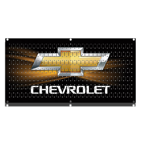 "HHWC11041- Chevrolet Black (1 Panel) | 16"" x 32""(wide) 