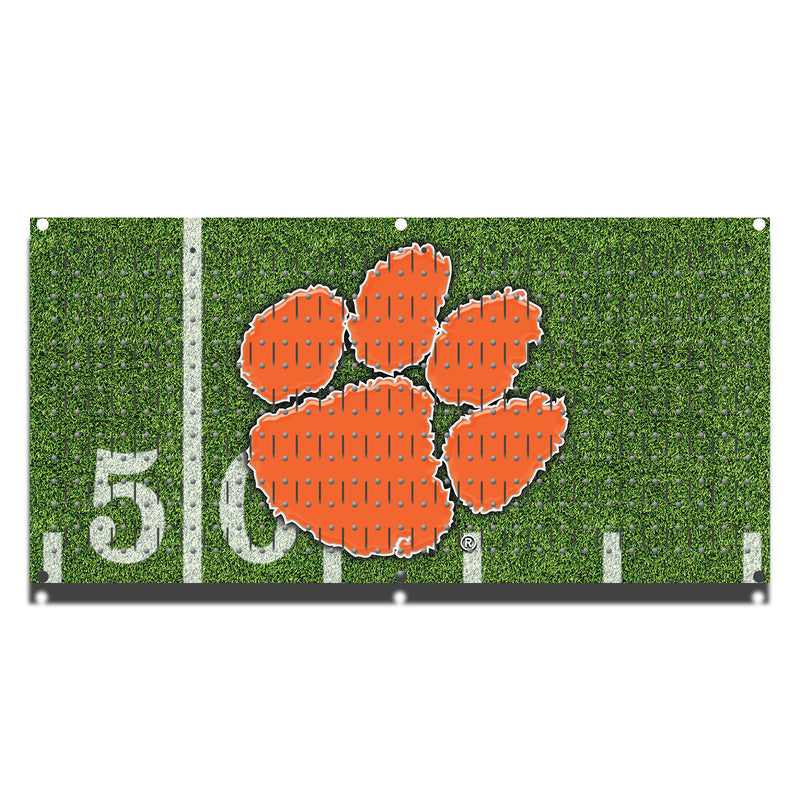 "HHWC11063 - Clemson Tigers (1 Panel) | 16"" x 32""(wide) 