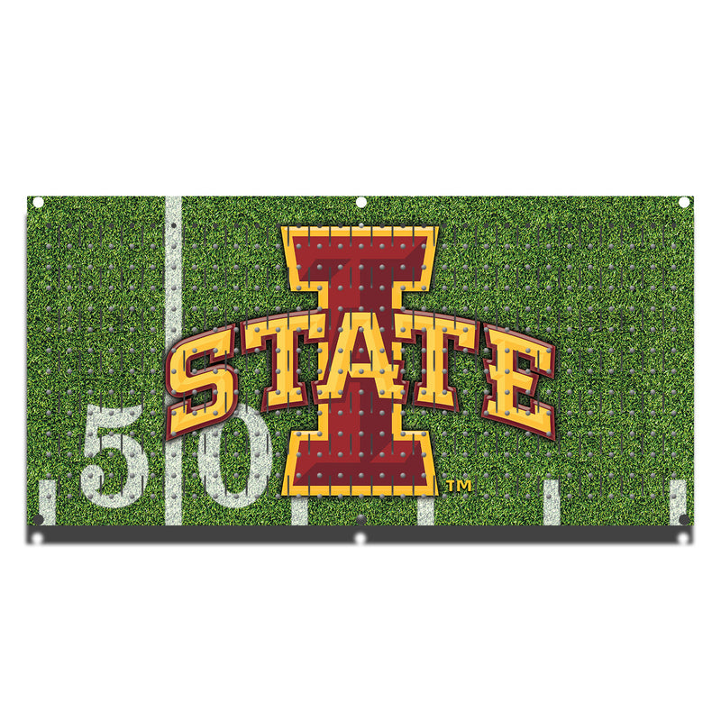 "HHWC11094 - Iowa State Cyclones Football (1 Panel) | 16"" x 32""(wide) 