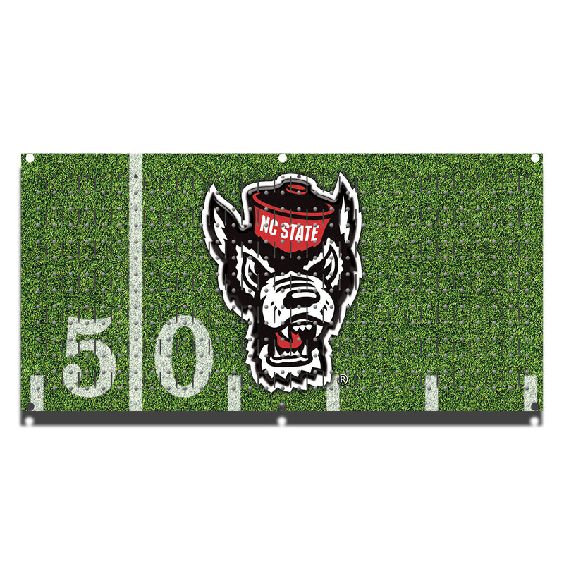 "HHWC11096 - NC State Wolfpack  Football (1 Panel) | 16"" x 32""(wide) 