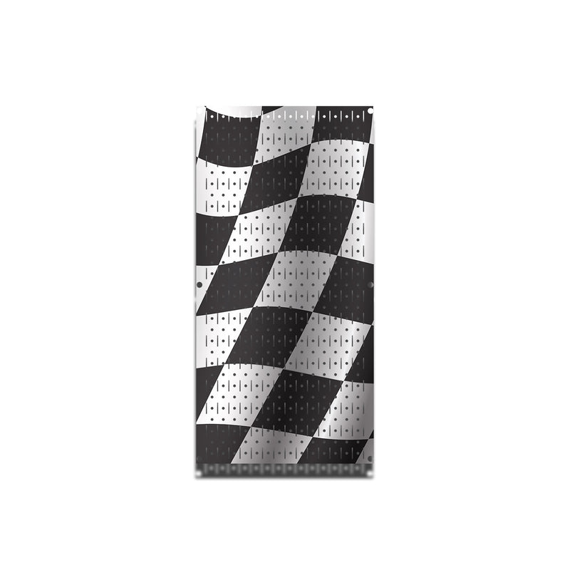 HWC11024 Racing Flags | Printed Wall Control Pegboard by HangTime