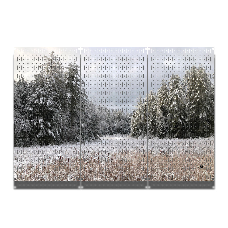 "HWC13108 Wintry Bliss (3 Panels) | 48"" x 32"" (tall) 