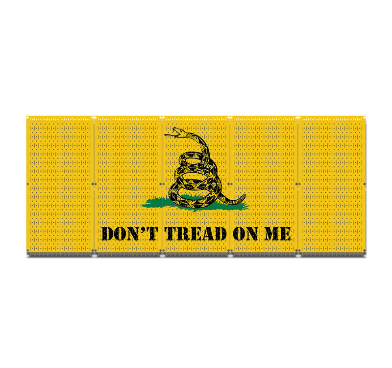 HWC15039 - Don't Tread On Me | Printed Wall Control Pegboard by HangTime®