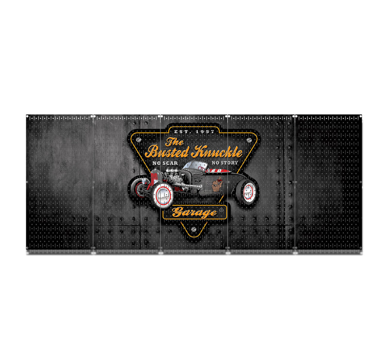 "HWC15086  - Busted Knuckle Hot Rod | (5 Panels) | 80"" x 32"" (tall) 