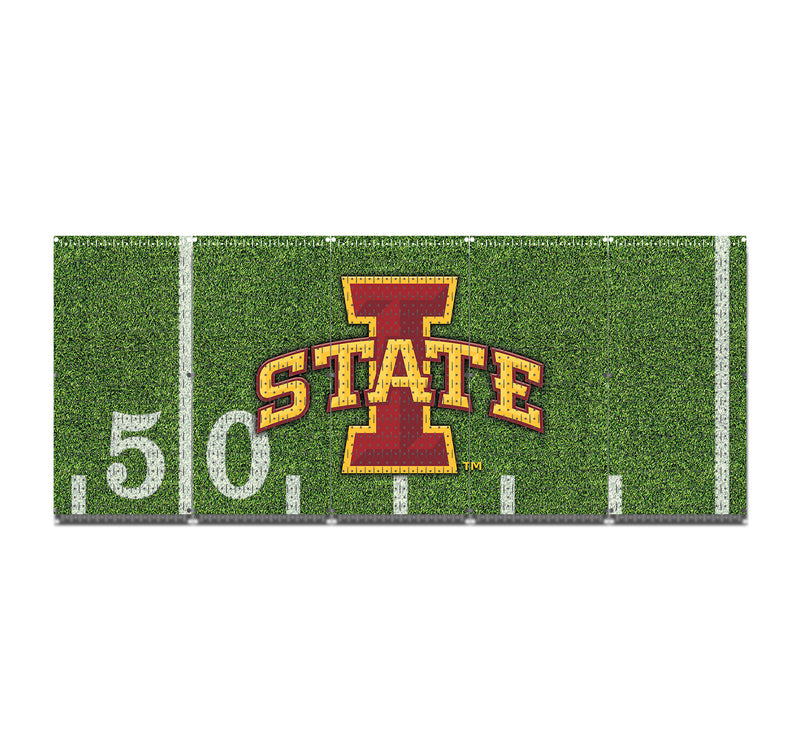 "HWC15094- Iowa State Cyclones Football (5 Panels) | 80"" x 32"" (tall) 