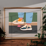 """California Dreams"" Print"