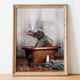Elephant in the Tub