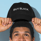 """Buy Black"" hat"