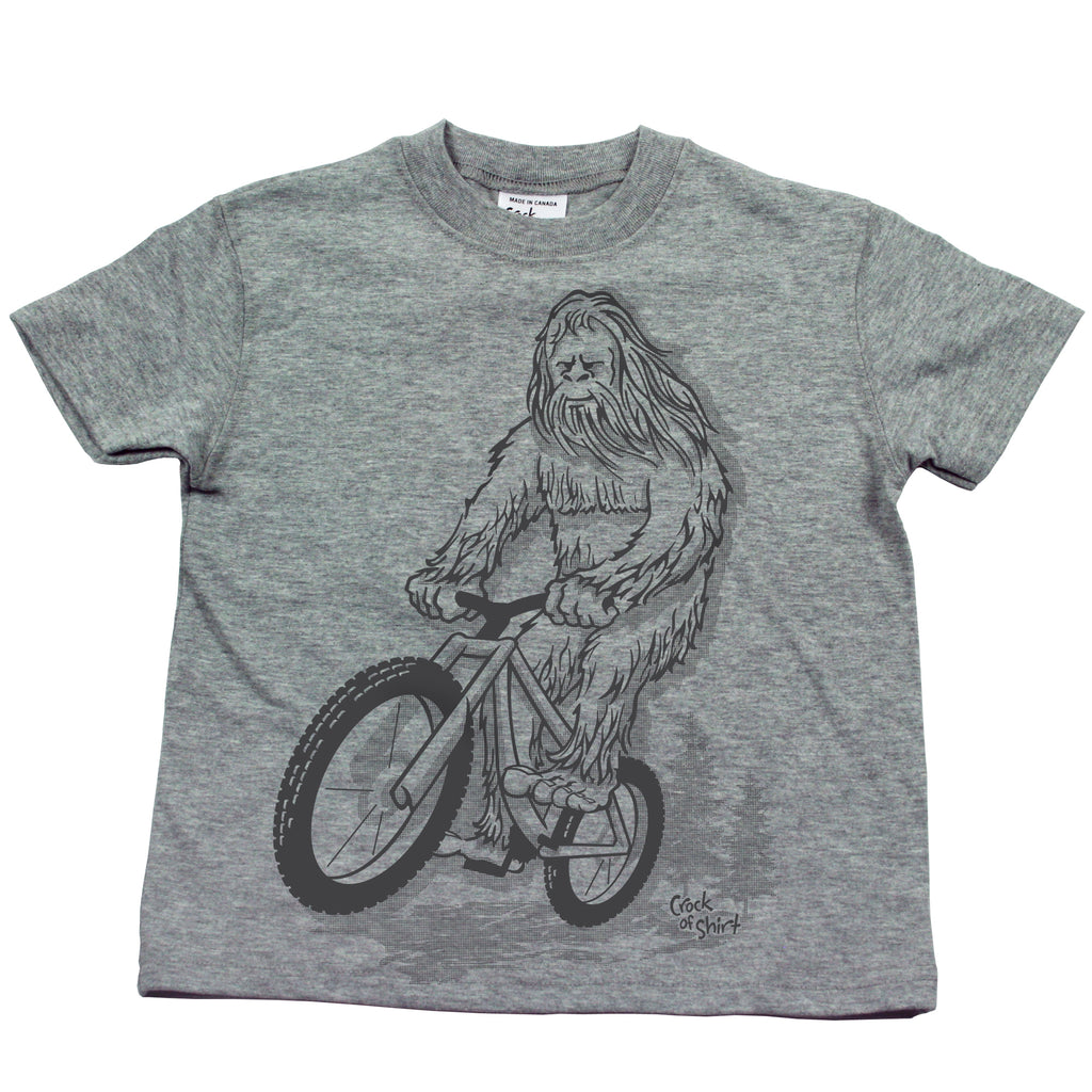 Sasquatch Bike! Kids T Shirt