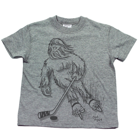 Sasquatch Hockey! Kids T Shirt
