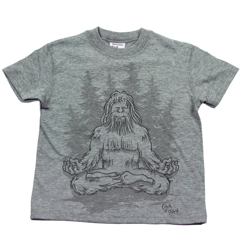 Sasquatch Lotus! Kids T Shirt