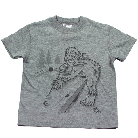 Sasquatch Pool! Kids T Shirt