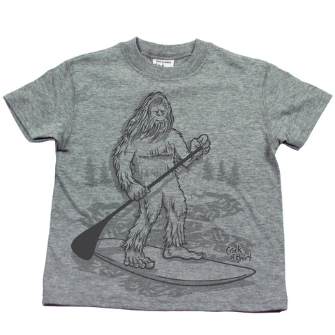 Sasquatch SUP! Kids T Shirt