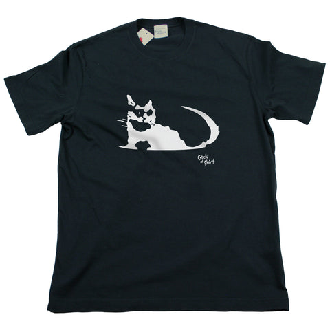 Beer Cat Men's T Shirt
