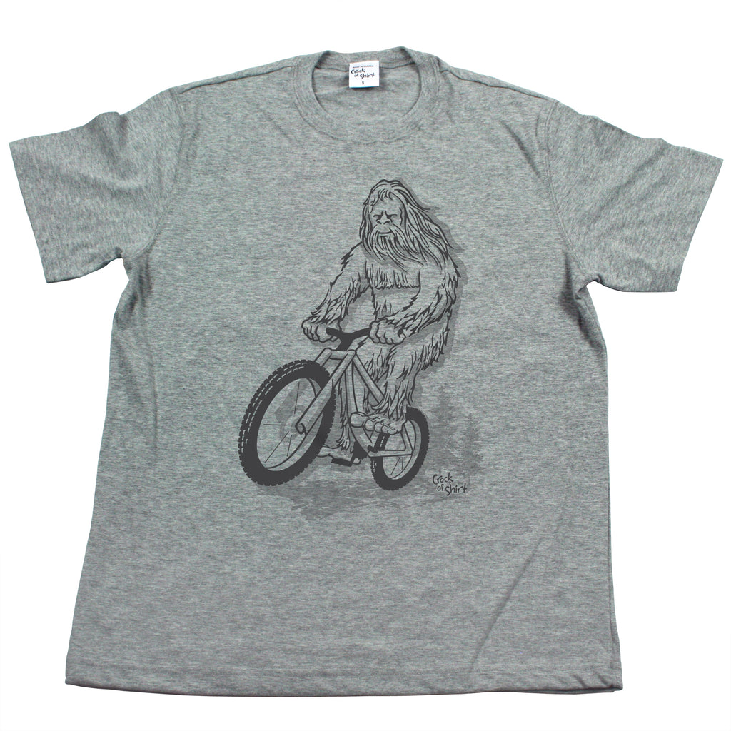 Sasquatch Bike! Men's T Shirt