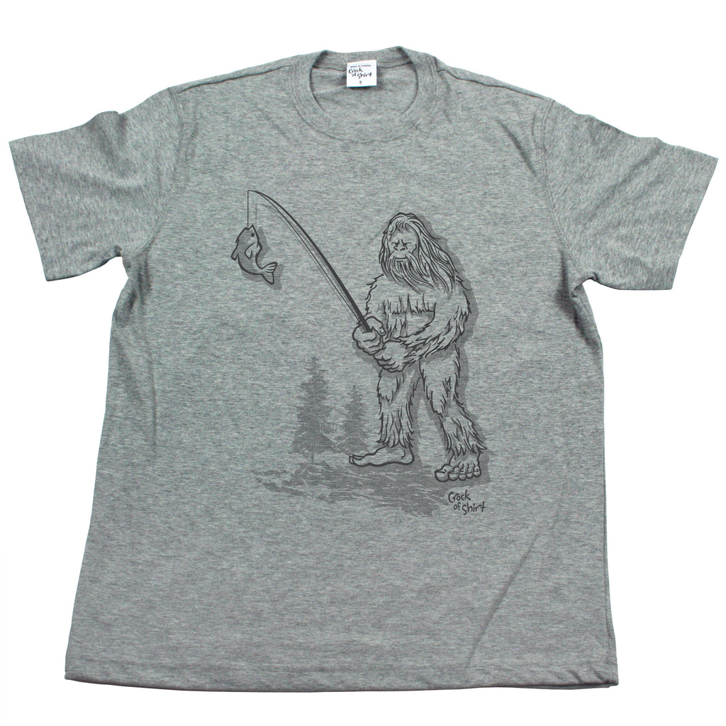 Sasquatch Fish! Men's T Shirt