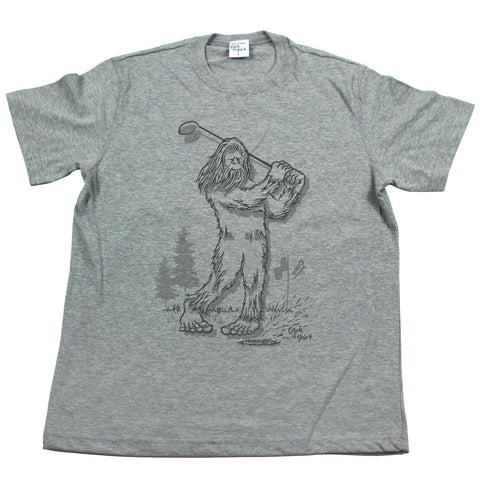 Sasquatch Golf! Men's T Shirt