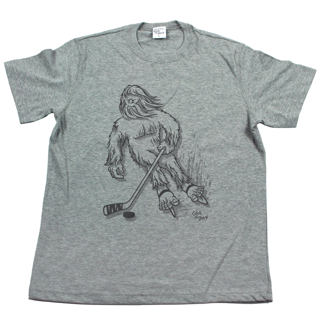 Sasquatch Hockey! Men's T Shirt