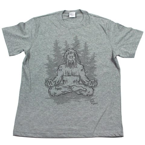 Sasquatch Lotus! Men's T Shirt