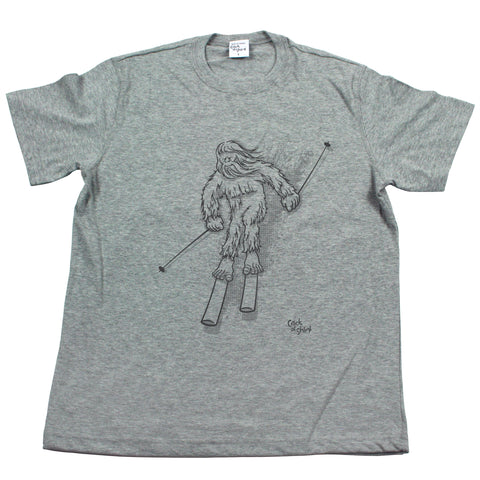 Sasquatch Ski! Men's T Shirt