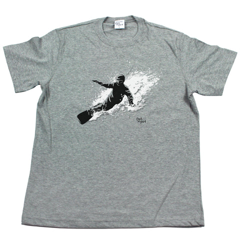 Snowboarder Men's T Shirt