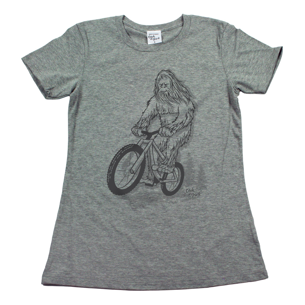 Sasquatch Bike! Women's T Shirt
