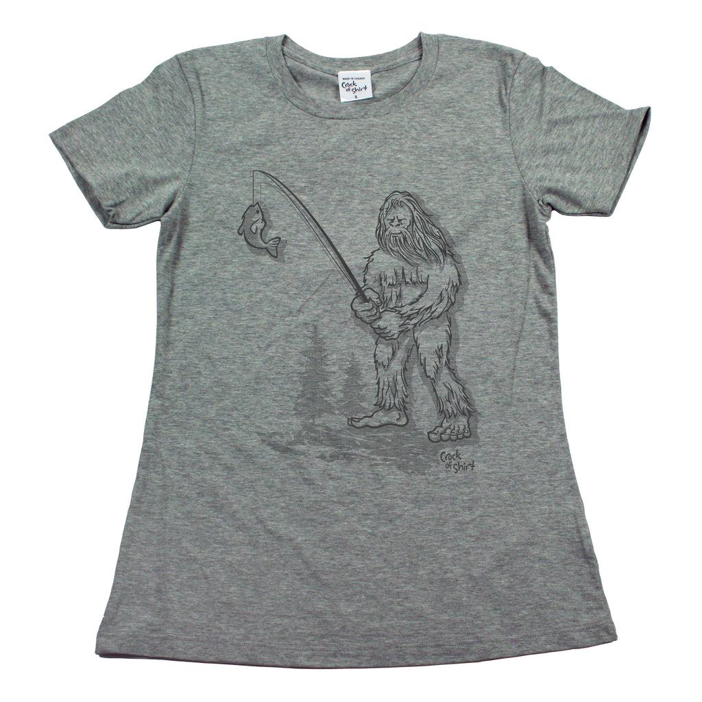 Sasquatch Fish! Women's T Shirt