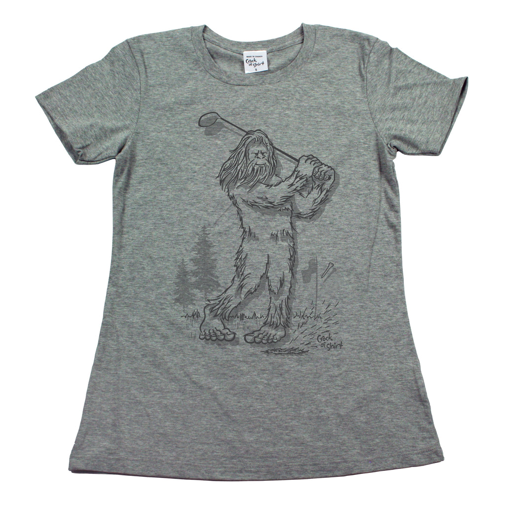 Sasquatch Golf! Women's T Shirt