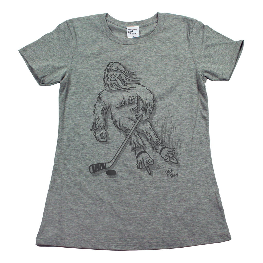 Sasquatch Hockey! Women's T Shirt
