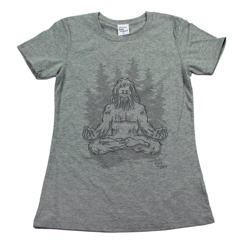 Sasquatch Lotus! Women's T Shirt
