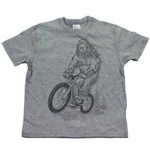 Sasquatch Bike! Youth T Shirt