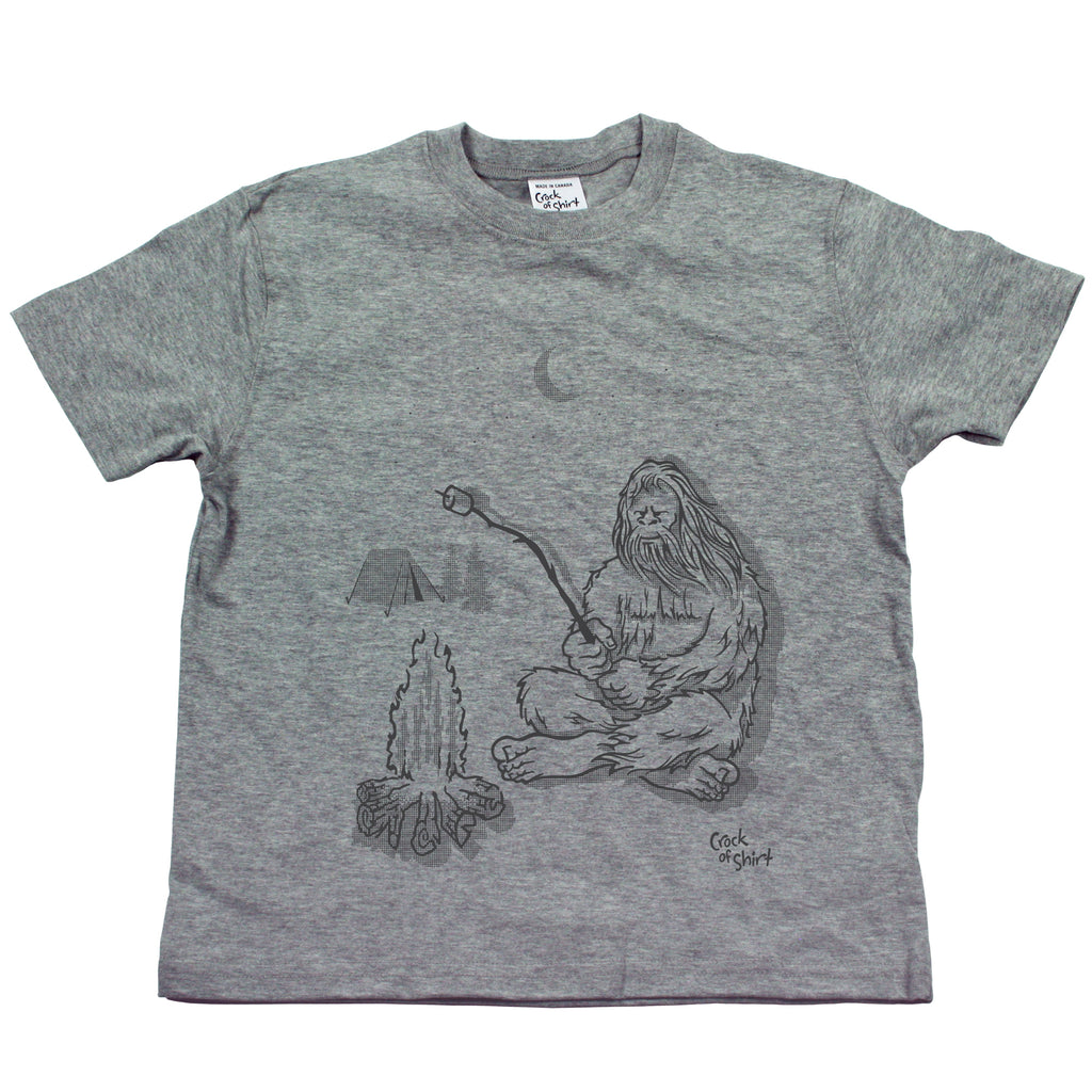 Sasquatch Camping! Youth T Shirt