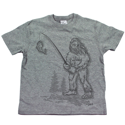 Sasquatch Fish! Youth T Shirt