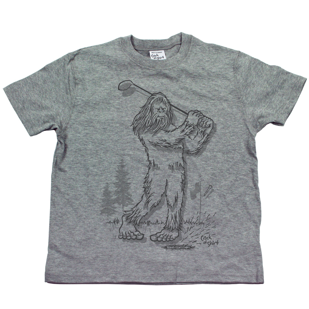 Sasquatch Golf! Youth T Shirt