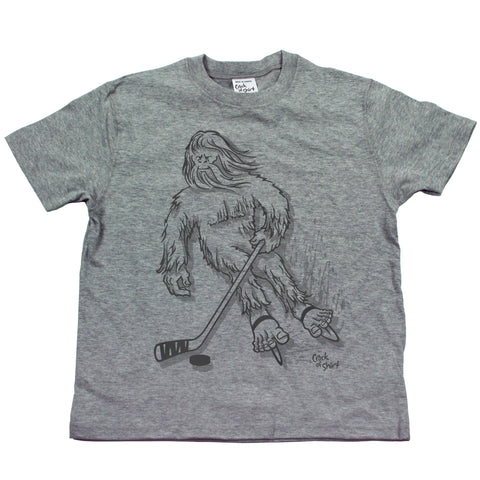 Sasquatch Hockey! Youth T Shirt