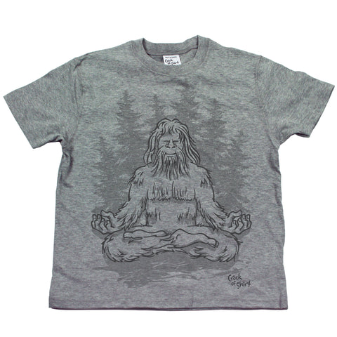 Sasquatch Lotus! Youth T Shirt