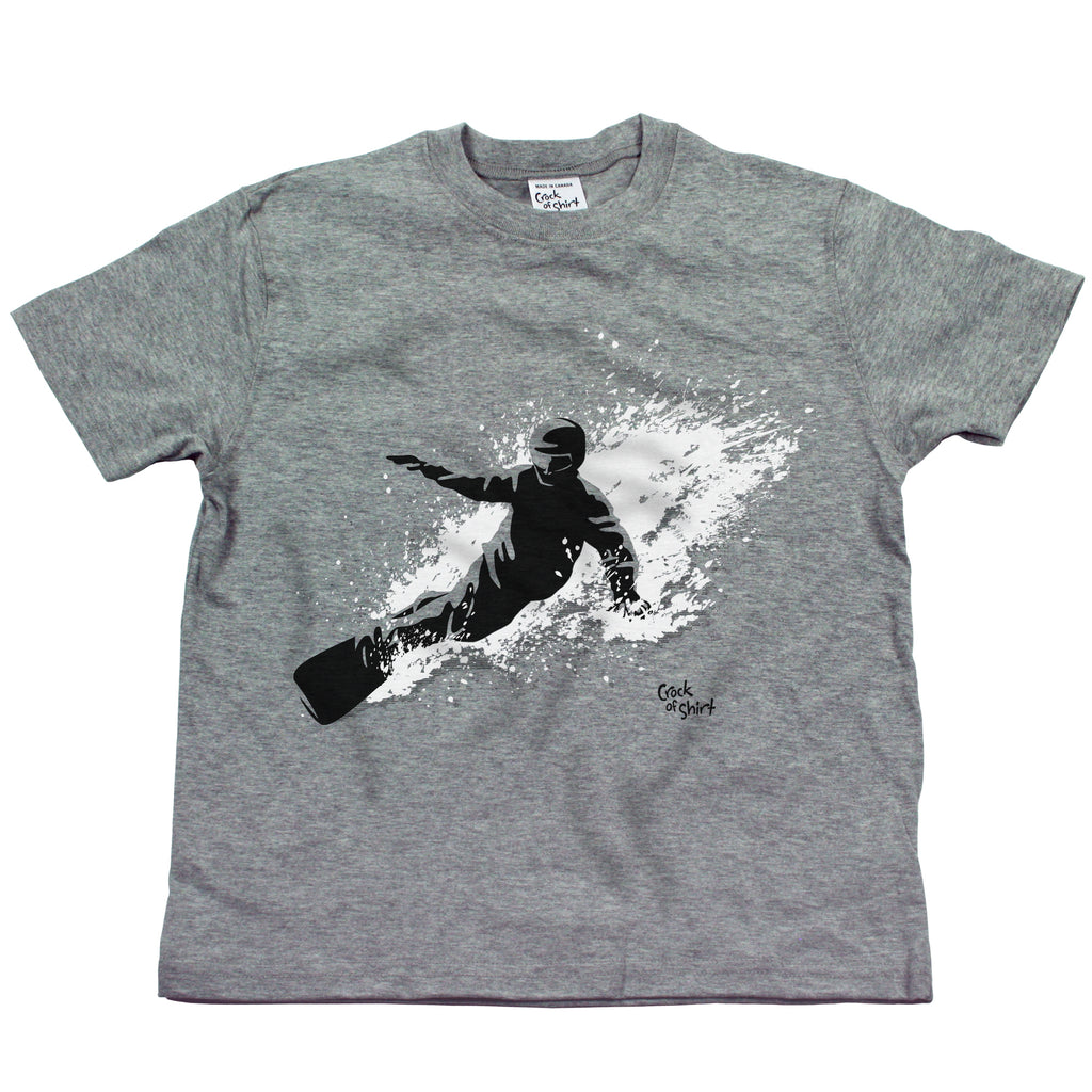 Snowboarder Youth T Shirt
