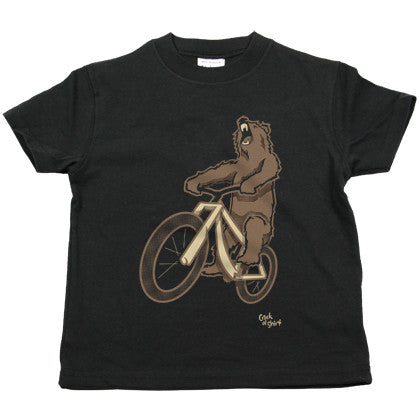 Bear Bike Kids Tee Shirt