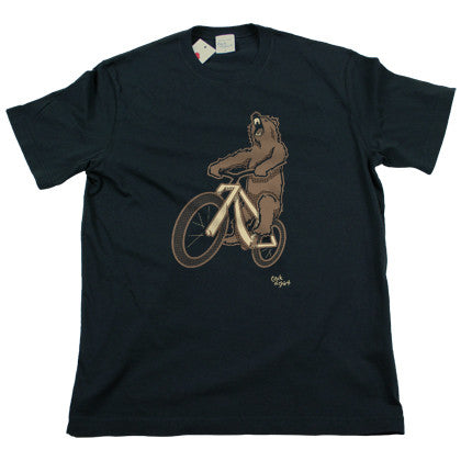 Bear Bike Men's T Shirt