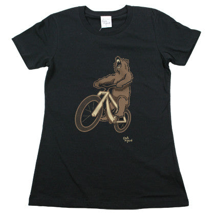 Bear Bike Women's T Shirt