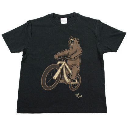 Bear Bike Youth Tee Shirt