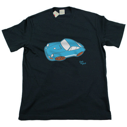 Blauen Porsche Men's T Shirt