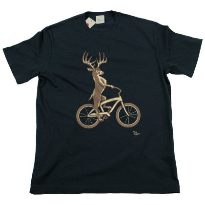 Deer Bike Men's T Shirt