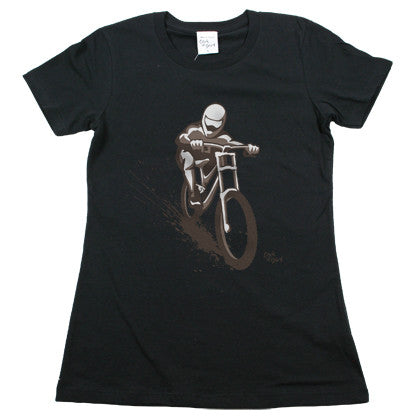 Downhill Bike Women's T Shirt