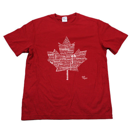 Eh Canada! Men's Red Tee